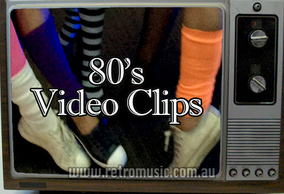 80's Video Disco Sydney Retro DJ hire video clips from 70s 80s 90s great for theme nights and 40th Birthdays & beyond