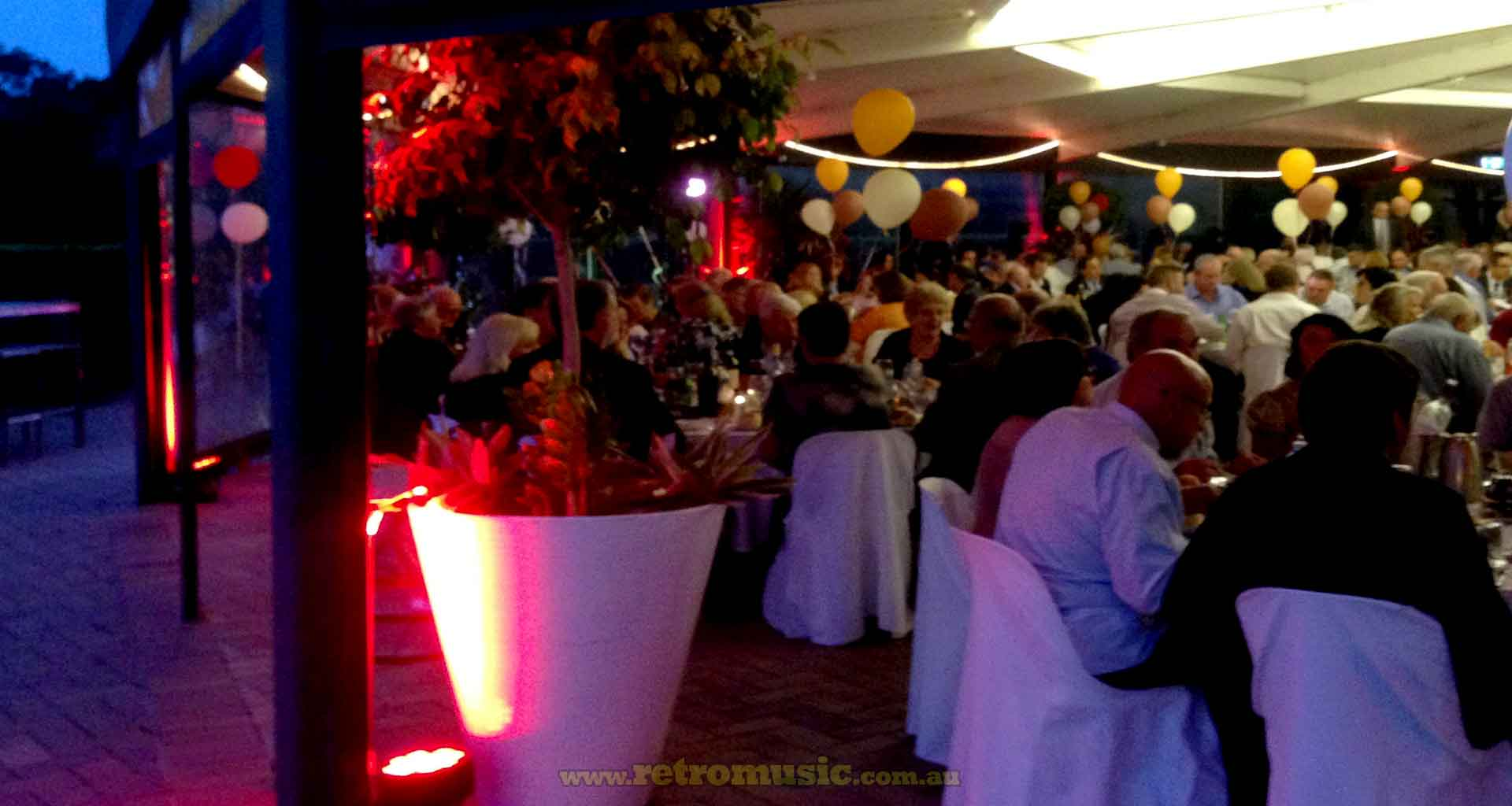 Lighting Room Hire Corporate Events