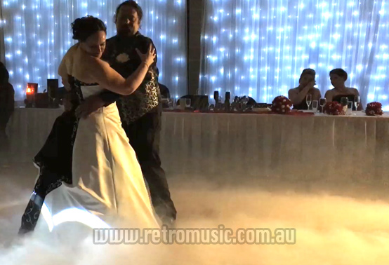 Wedding Dace On A Cloud Dry Ice Smoke Effect