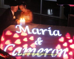 Maria and Cameron wedding light