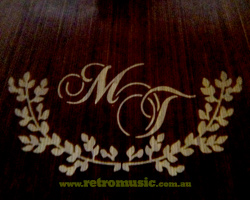 Custom Wedding Monogram Sydney Wedding DJ Hire