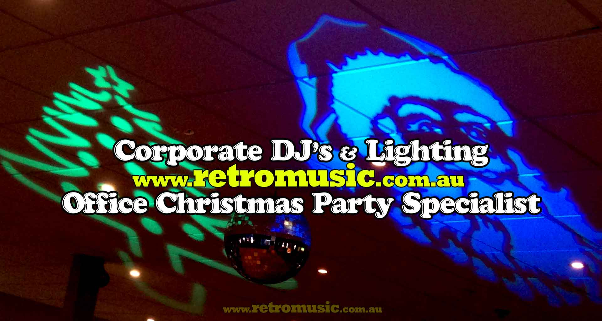 Office-Christmas-Party-DJ-Lighting Hire