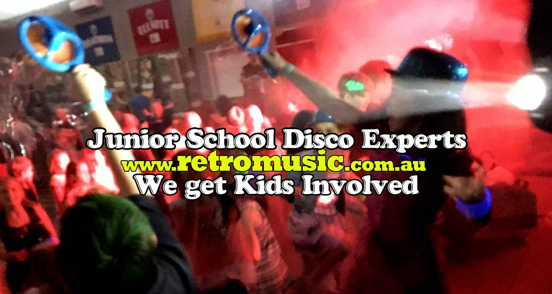 School Disco DJ hire