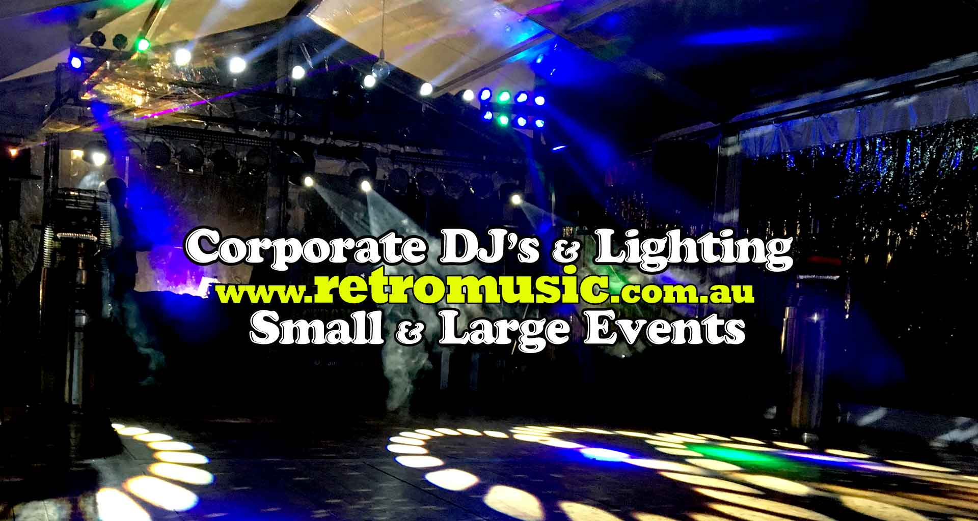 retro dj hire corporate events