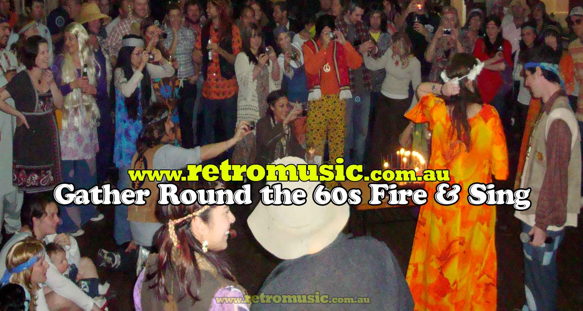 60s Hippy Rock n Roll Music Party DJ