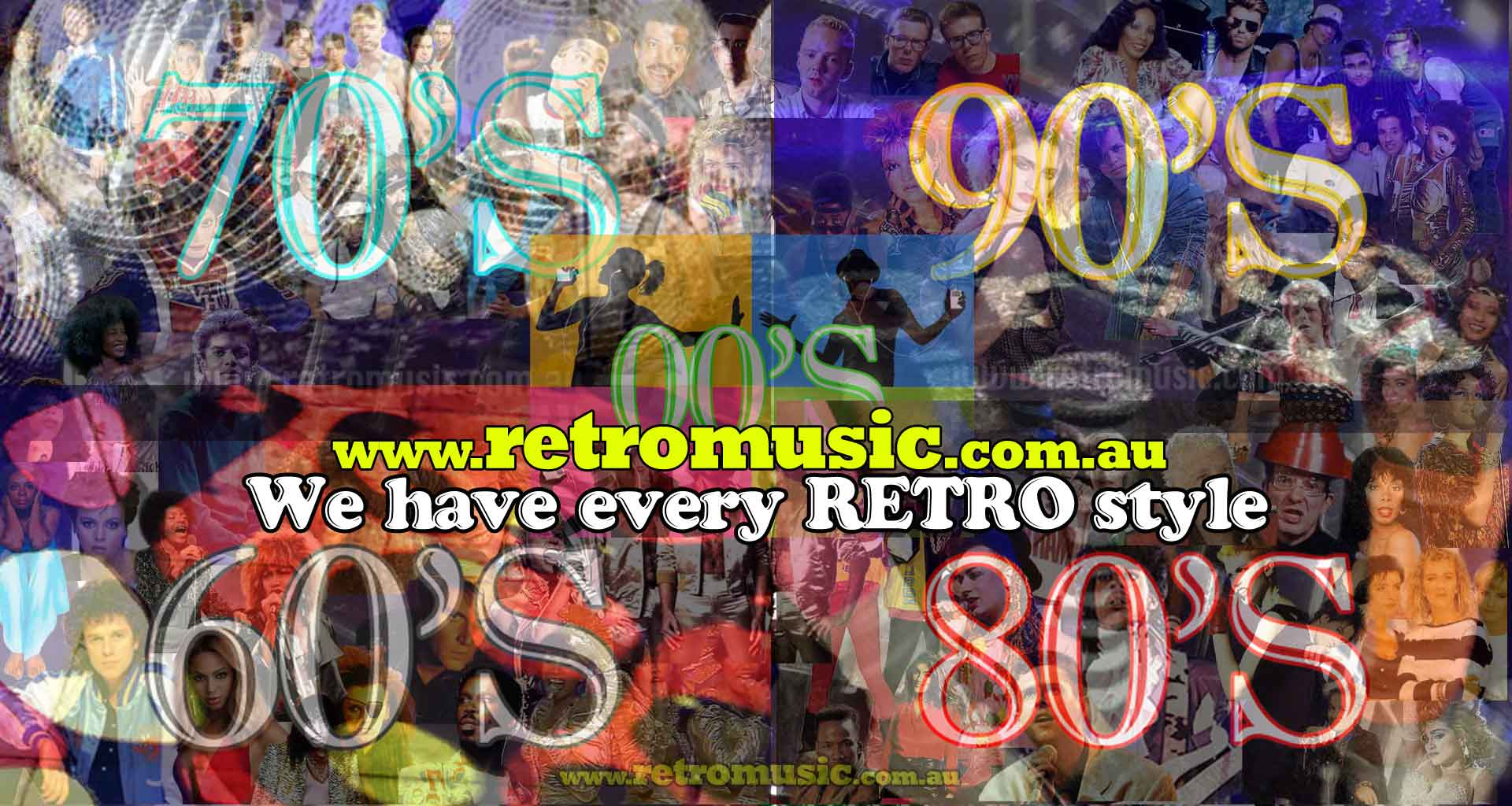 Every style of retro DJ for Hire