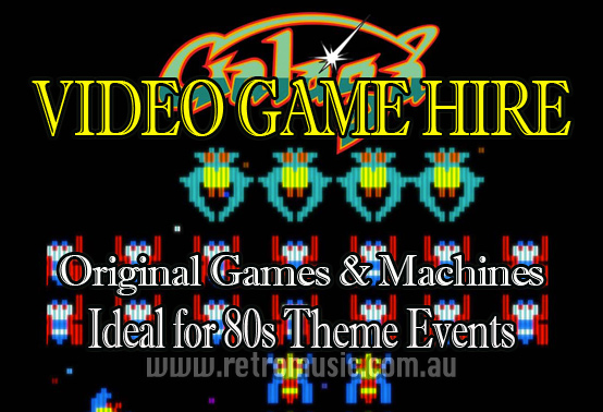 Sydney Retro DJ Hire & Retro Arcade Games