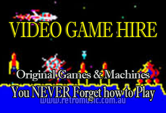 Sydney DJ Hire & Retro Arcade Games