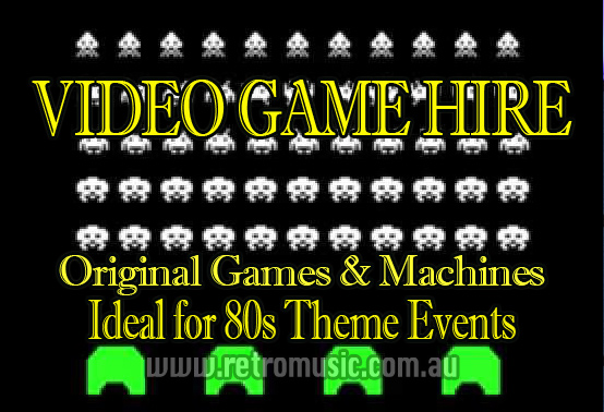 Space Invaders Sydney Retro DJ Hire & Retro Arcade Game Hire