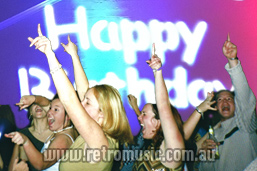 Sydney Retro Birthday Party DJ hire for all ages and styles of retro